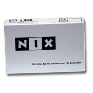 NIX – für diejenigen, die sich NIX wünschen