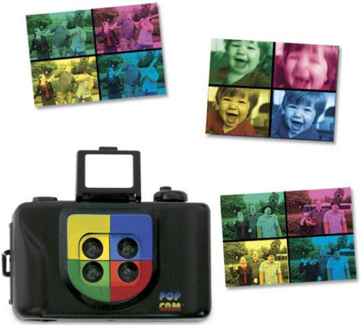 Pop-Art-Kamera für Geburtstagsfeiern und mehr
