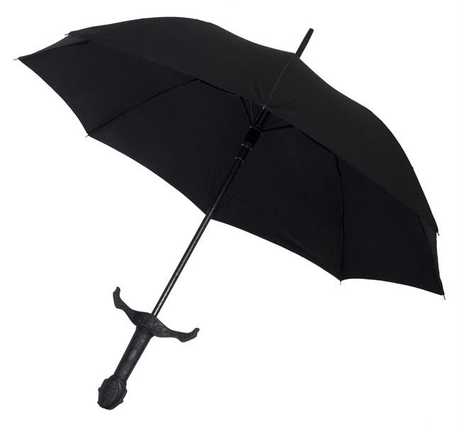 Mittelalterlicher Schirm für Scifi Fans
