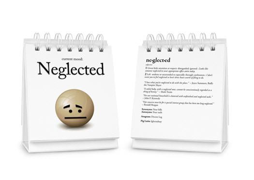Stimmungs-Flipchart für Büromenschen