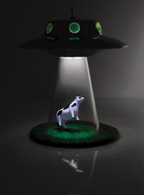 UFO-Lampe – wir sind nicht allein