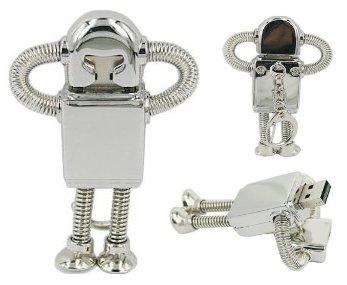 USB-Stick-Roboter: ein praktisches Geschenk im Retro-Stil