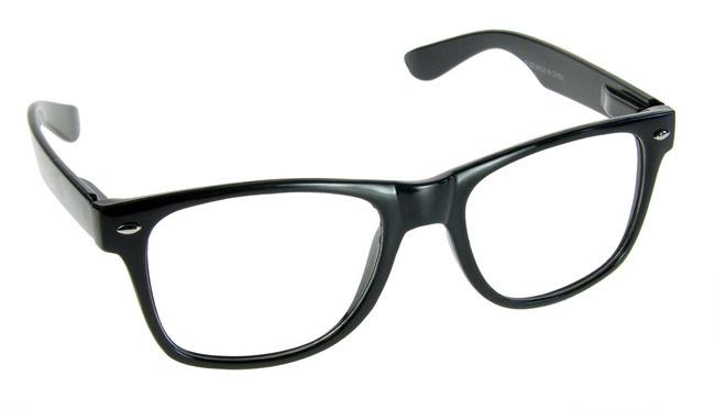 Nerdbrille für den geekigen Look