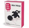 ein ausgefallenes Geschenk: Mini-Ninja-Strickset