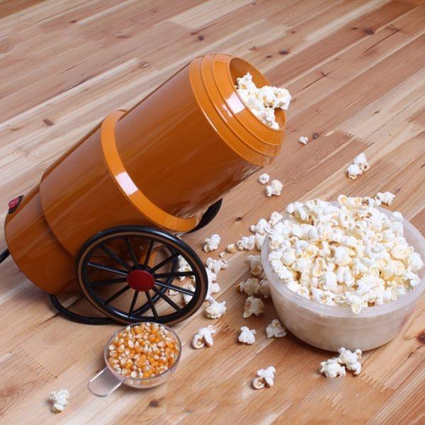 Popcorn-Kanone – sorgt für frisches Knabberzeug
