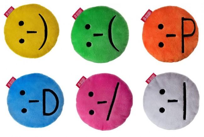 Smiley-Kissen: Simmungsbarometer und Kommunikationshelfer