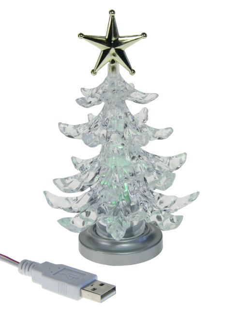 USB-Weihnachtsbaum – nerdige Dekoidee
