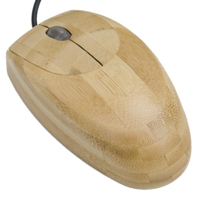 Bambus-Maus für PC-Freaks