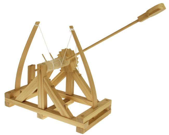Katapult-Bausatz für größere und ganz große Kinder