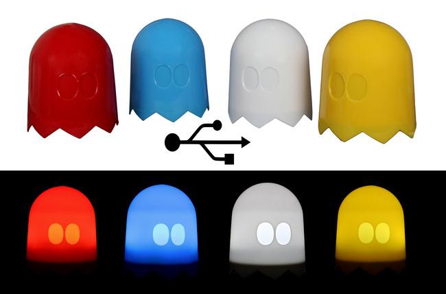 Pacman-Geist – bringt Licht ins Dunkel