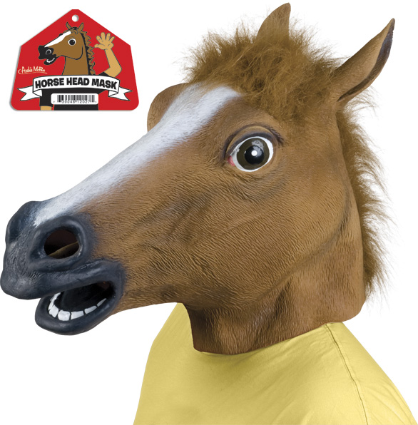 Kultige Pferdemaske für…